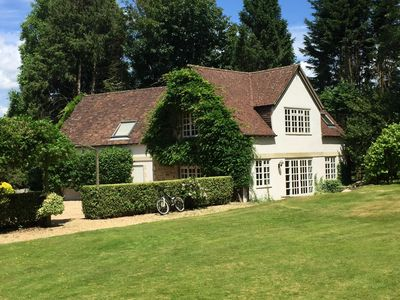 Photo for Beautiful South Downs cottage w/private gate that opens directly onto the Downs