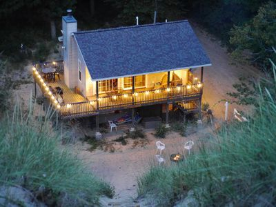 Photo for The Sandbox Beach House -  A Cottage in the Dunes!