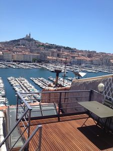 Photo for Vieux Port to Notre Dame de la Garde Triplex 70 m2 terrace