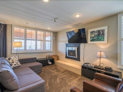 Photo for Condo offers beautiful views, a shared hot tub, and ski-in/ski-out location!