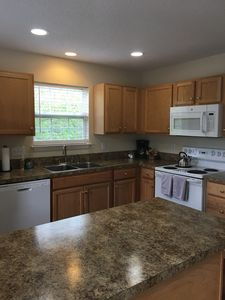 Fully equipped kitchen includes coffee maker, blender, griddle, etc.