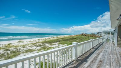 Photo for Available NOW—no hurricane damage! Gulf Front w/elevator & screened-in porch.