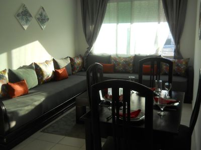 Photo for cheap luxury apart in the Heart of tangier with wifi
