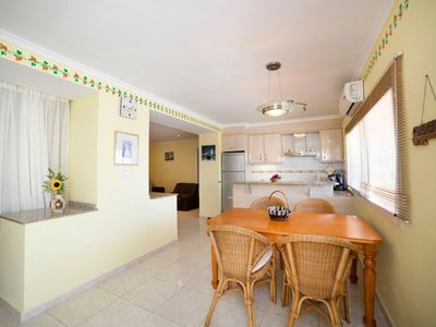 Photo for Apartment 946 m from the center of Calp with Parking, Internet, Washing machine, Air conditioning (699107)