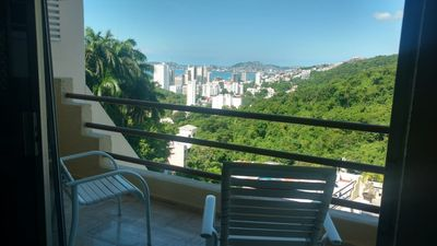 Photo for apartment in Acapulco overlooking the bay