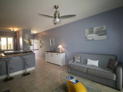 """Photo for Modern and cozy apartment """"LA TURQUOISE"""" on the ground floor"""