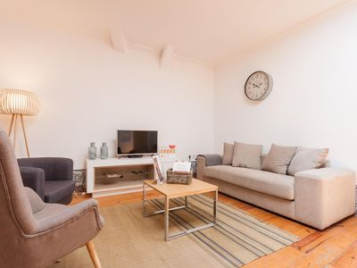 Photo for Sé Cozy apartment in Baixa/Chiado with WiFi.