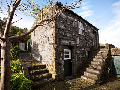 Photo for Azorean Traditional Stone Cottages with Seaview!