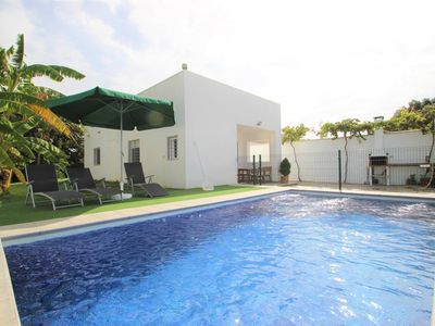 Photo for modern new house with private pool for 4 persons, near to Conil but in natural surrounding, with WiFi and aircon