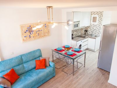 Photo for Agata 501. Beautiful studio apartment in Benalmádena Costa.
