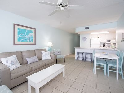 Photo for Absolute Gulf Front - 2BR Condo at Island Sunrise w/ Beach View &  Pool