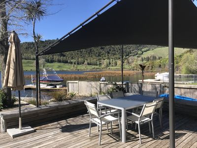 Photo for Okareka Lake Edge, Great place for up to 12 guests