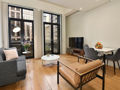 Photo for Fully furnished Apt 12A/377 Little Collins St,Melbourne