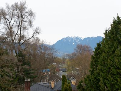 Photo for Extraordinary city and mountain view from upstairs suite in Kitsilano house