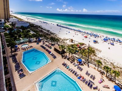 Photo for The Summit - Beach Front Condo - Best Location On The Beach!! - (1 BR Sleeps