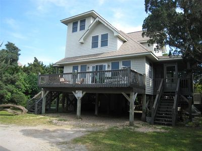 Photo for Crows Nest:  Pet friendly home, wonderful decking, screened porch.