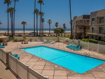 Photo for Ocean views from your bed. Walk across the street to the beach. Surf year round