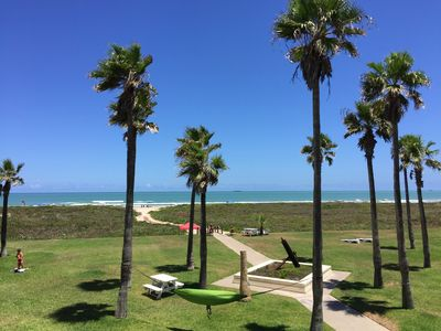 Photo for Sangria Condominiums #209 - Updated, Vaulted Ceilings. Beach Front & Views!