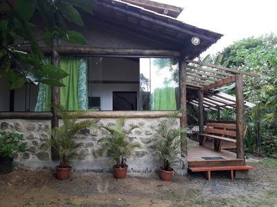 Photo for Rio dos Meros chalet, peace, tranquility and comfort!