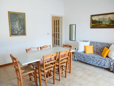 Photo for Holiday apartment in Torre Lapillo, equipped terrace, Internet