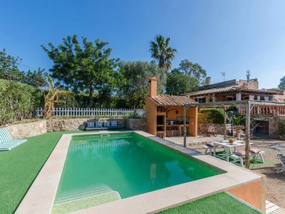 Photo for YourHouse Can Seti finca with pool in a natural environment of Alaro