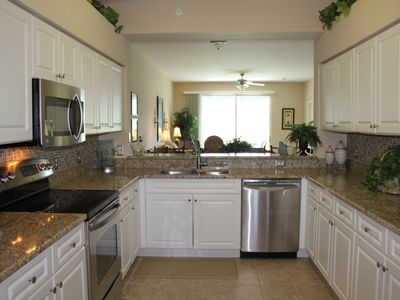Every Item Item Is New In This Granite & Stainless, Open and Spacious Kitchen