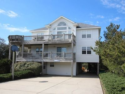 Photo for #462: OCEANSIDE in Corolla w/PRVTPool, HotTub & RecRm w/PoolTbl