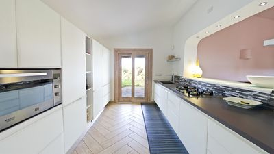 Photo for Large detached villa with sea view and WiFi