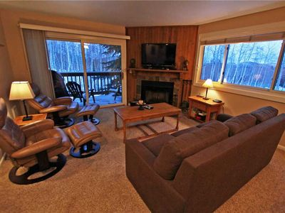 Photo for Snow Flower Condo #113, 2 bedroom 2 bath, sleeps 6, SKI-IN/SKI-OUT to Park City Mountain Resort