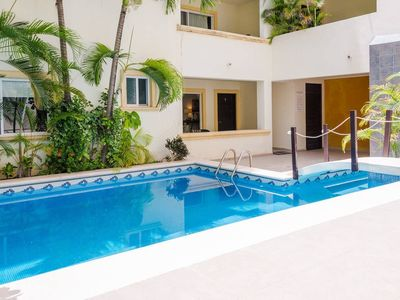 Photo for Modern Condo, Just Steps to Mamitas Beach & 5th!