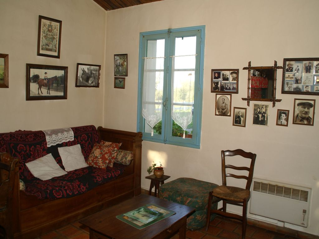atmospheric holiday home with large garden, authentic interior, in