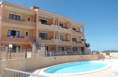 Photo for Excellent sea view apartment in residence with swimming pool near the beach