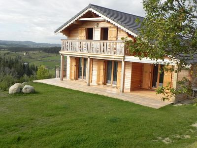 Photo for Beautiful cozy cottage of 110 m2 in margeride Languedoc / Auverg