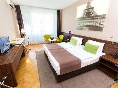 Our Simply The Rest concept is created with idea to provide comfortable, modernly designed accommodation for business people and other travellers at very competitive rates.