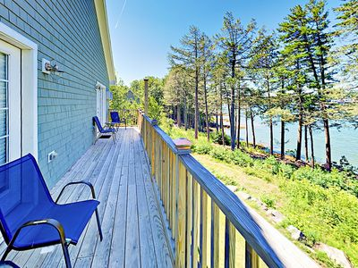 Photo for Beautiful New 1BR Condo w/ River Views at Sheepscot Harbor Resort