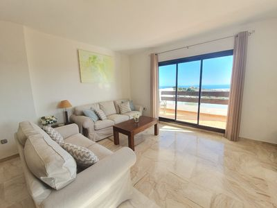 Photo for Sea view, 3 bedrooms, 2 bathrooms, large private terrace, 3 pools, ....