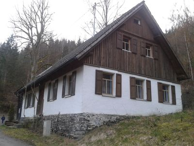 Photo for 2 houses together. 60 meters wide. In the forest. No neighbor.