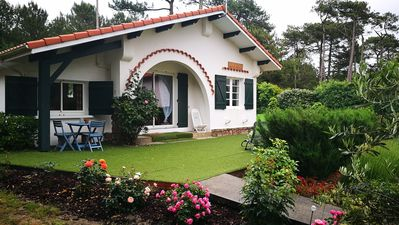 Photo for HOUSE LANDAISE 3 *, QUIET, 1KM BEACHES, ACCESS FOREST, WIFI