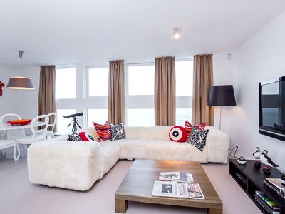 Photo for Luxury Family City Center Apartment with Direct Ocean Views