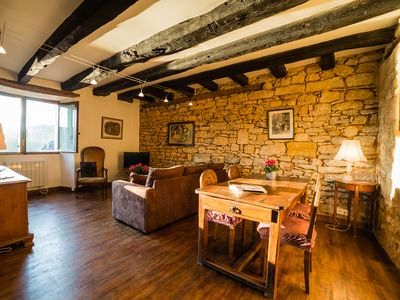 Photo for CHARMING STONEHOUSE IN THE COBBLESTONE PATH TO THE CASTLE OF BEYNAC