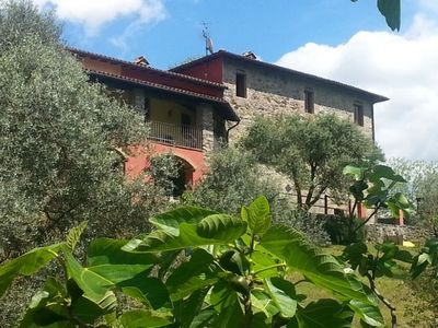 Photo for New 2018! San Rocco, beautifully finished,  own pool, mountain views, WIFI !