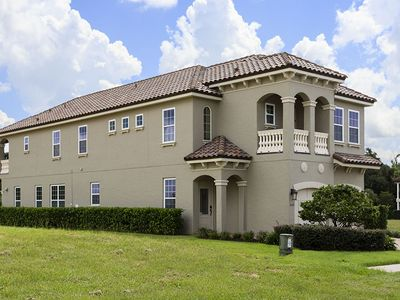 Photo for Private Pool/Spa, Luxury Resort Villa on Golf Course minutes from Disney!