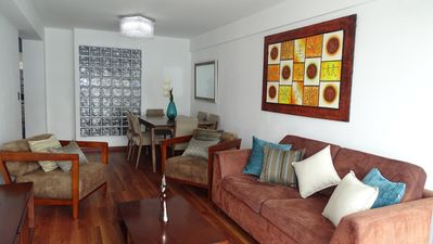 Photo for Beautiful, spacious and central duplex apartment. In the best area of Lima.
