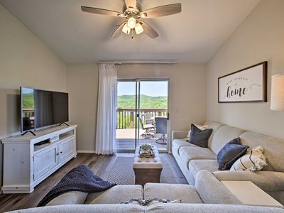 Photo for NEW! Resort Condo on Lake, 2 Mi. to Silver Dollar!