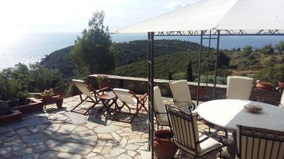 Photo for BREATHTAKING VIEW HOUSE IN SARTI
