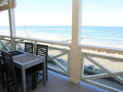 Photo for T4 85m2 + Terrace 15m2, SEA VIEW, 8 people, free WIFI, Parking included, N ° 6
