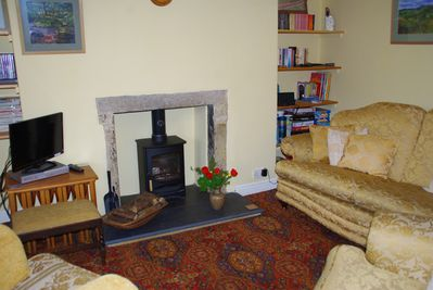 Cosy and comfortable sitting room