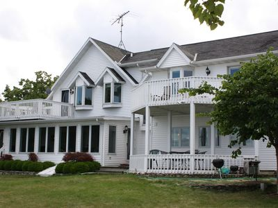 Photo for Waterfront home, Baileys Harbor, 1/2 price Monday-Thursday Sept-May