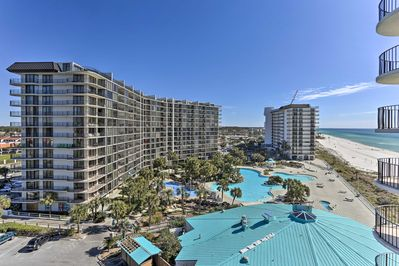 Escape on a retreat to Panama City Beach and stay at this vacation rental condo.