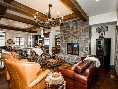 Photo for Just Listed!!! Gorgeous Slopeside Property! Ski-in Ski-out and sleeps 12!